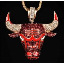 Colgante Brillantes Chicago Bulls