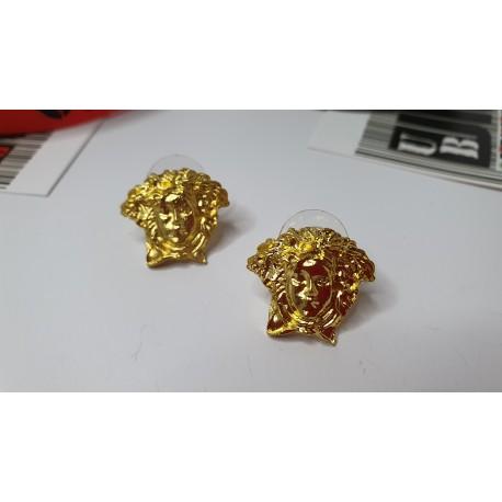Pendientes Dorados Versace